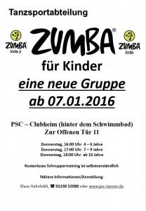 Zumba für Kids