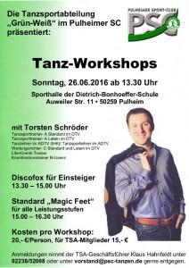 Tanz-Workshops mit Torsten Schröder